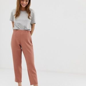 ASOS- petite tapered trousers